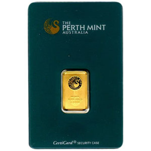 Compare gold prices of Perth Mint 5 Gram Gold Bar