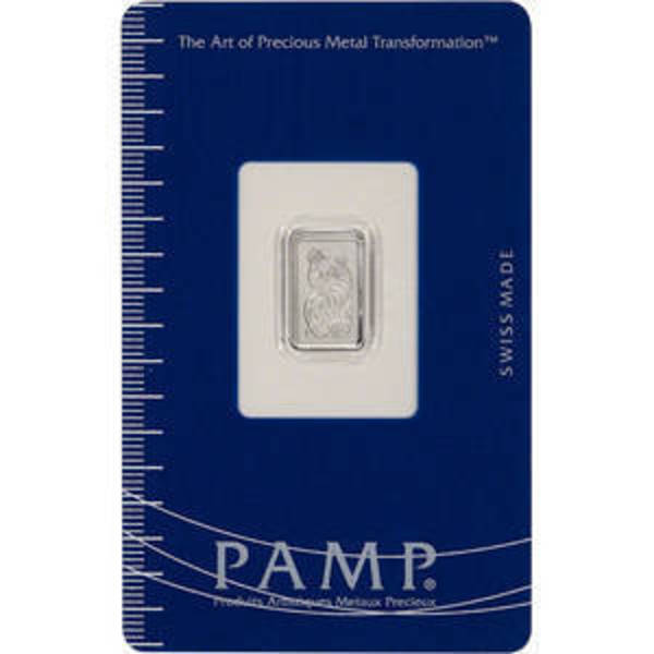 Compare cheapest prices of PAMP Suisse 1 Gram Platinum Bars