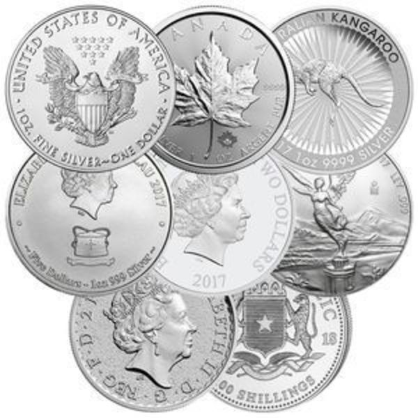 Compare cheapest prices of Government Minted Silver Coins  - Random