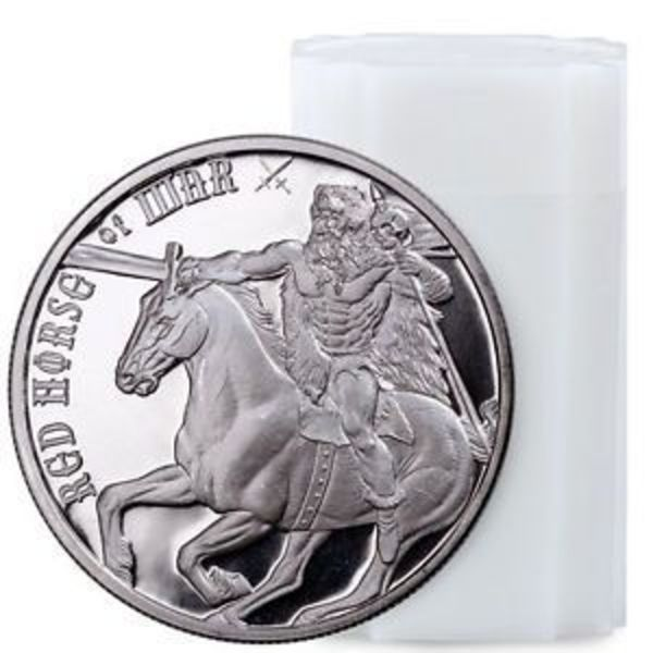 Compare silver prices of Red Horse of War 1 oz Silver Round