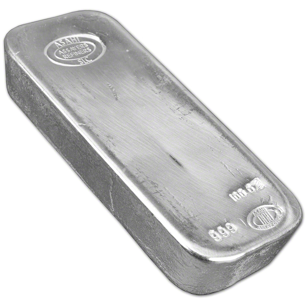 Compare silver prices of 100 oz Asahi Silver Bars