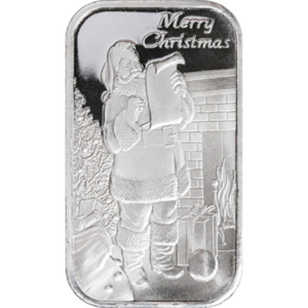 Compare silver prices of Santa's List - 1 oz Silver Bar