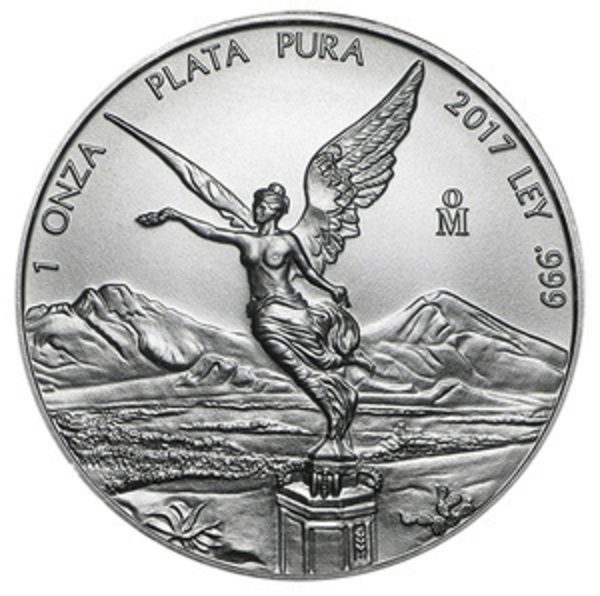 Compare silver prices of 2017 Mexico 1 oz Silver Libertad