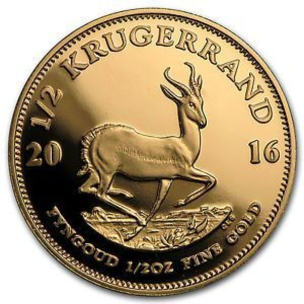 Compare Est Prices Of South Africa 1 2 Oz Gold Krugerrand Random Year