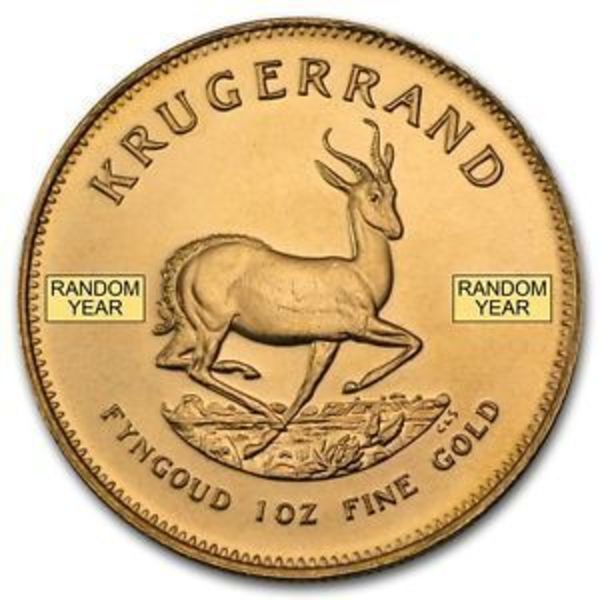 Compare gold prices of South Africa 1/4 oz Gold Krugerrand (Random Year)