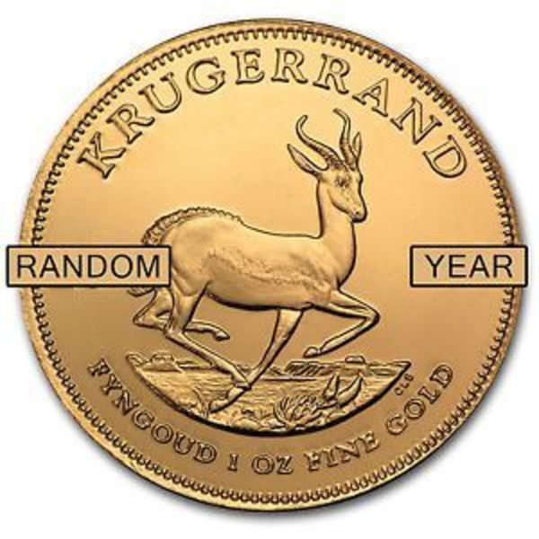 Compare South Africa 1 oz Gold Krugerrand (Random Year) prices