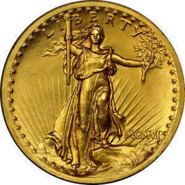 Compare gold prices of Saint Gaudens $20 Gold Coin (1907-1933) Double Eagle