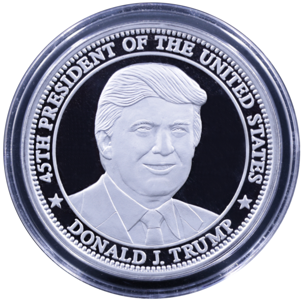 Compare silver prices of President Trump 2020 1 oz Silver Freedom Coin