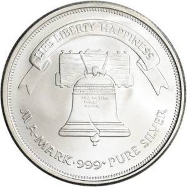 Compare silver prices of A-Mark 1 oz Silver Round