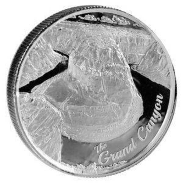 Compare cheapest prices of 2 oz Elemetal Grand Canyon Ultra High Relief Silver Round (US Landmarks Series #1)