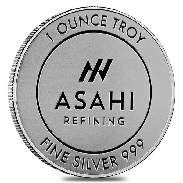 Compare silver prices of Asahi 1 oz Silver Rounds