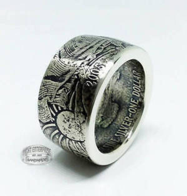 Compare Silver Coin Rings prices