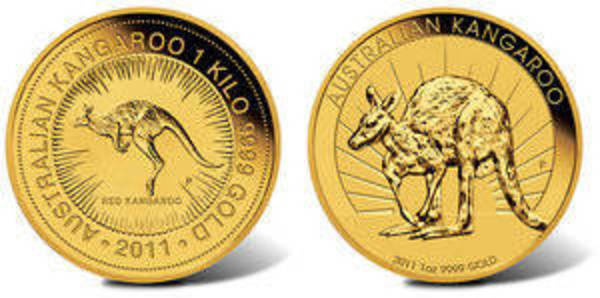 Compare Australian 1 oz Kangaroo Gold Coins prices