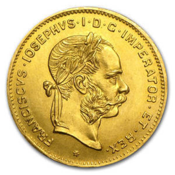Compare gold prices of Austria Gold 4 Florin/10 Francs Franz Joseph