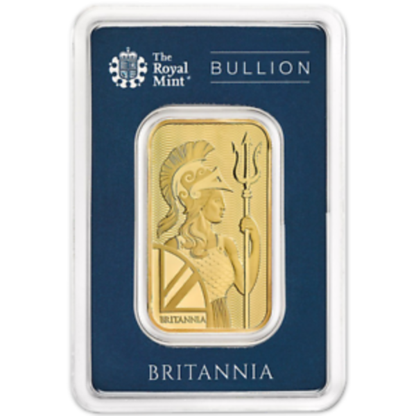 Compare gold prices of Britannia 1 oz Gold Bar Royal Mint .9999 Fine 24kt