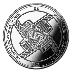 Compare silver prices of Cryptocurrency 0x Protocol 1 oz Silver Bullion Round