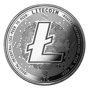 Compare Cryptocurrency Litecoin 1 oz Silver Bullion Round  prices
