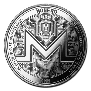 Compare silver prices of Cryptocurrency Monero 1 oz Silver Bullion Round