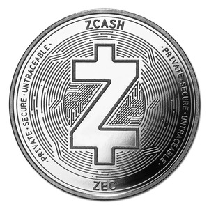 Compare silver prices of Cryptocurrency Zcash 1 oz Silver Bullion Round