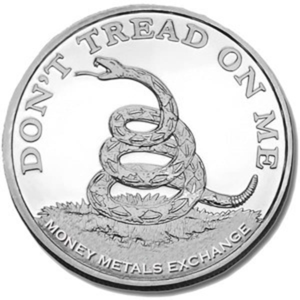 Compare silver prices of Don't Tread On Me 1 Oz Silver Coins