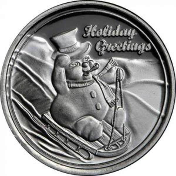 Compare silver prices of Frosty the Snowman 1 oz Silver Round