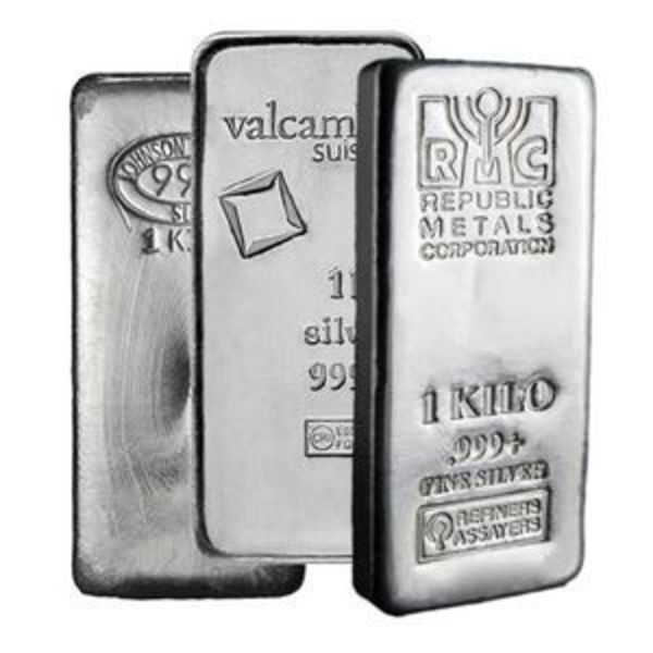 Compare silver prices of 1 kilo Silver Bar - Secondary Market