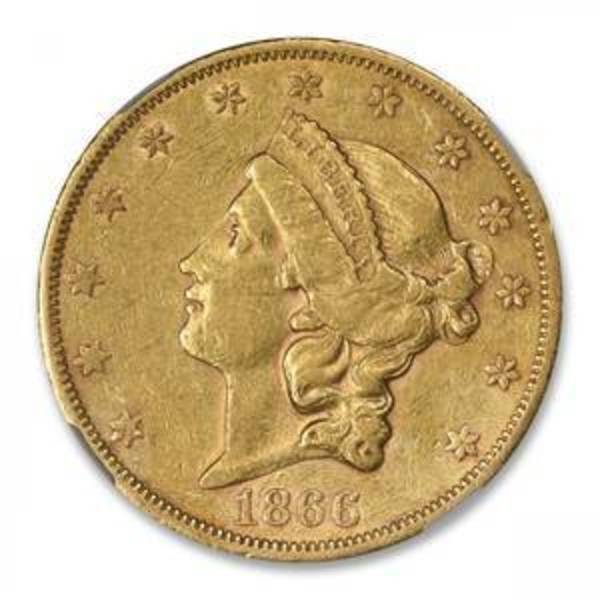 Compare gold prices of Liberty $20 Double Eagles (1850-1907)