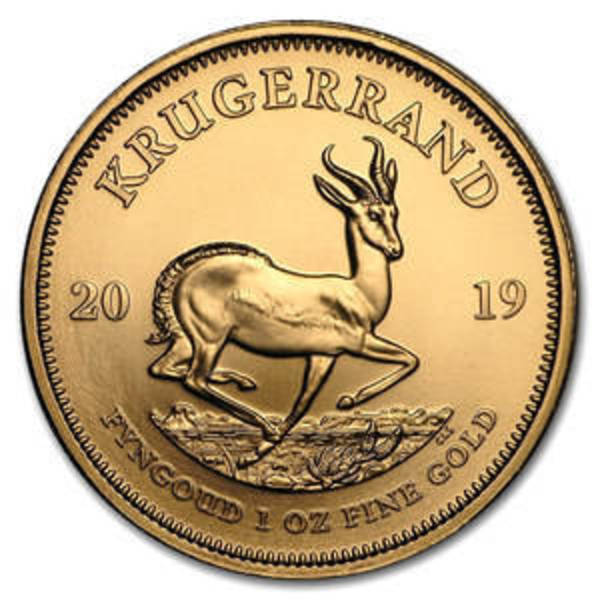 Compare 2019 Gold Krugerrand 1 oz Coin prices