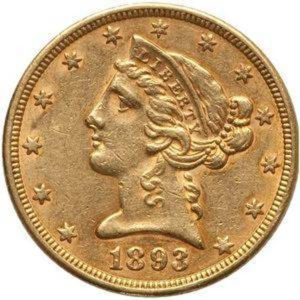 Compare gold prices of $5 Half Eagle Liberty Head