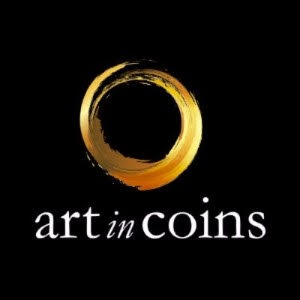 Art in Coins logo