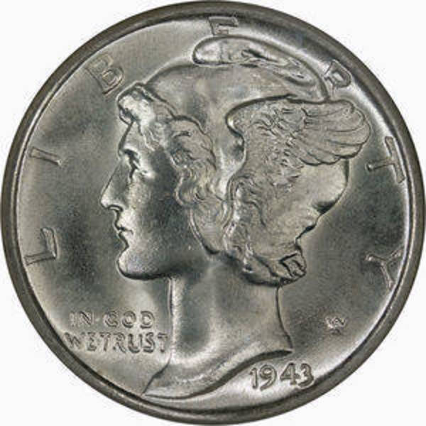 Compare silver prices of Mercury Dimes $1 FV