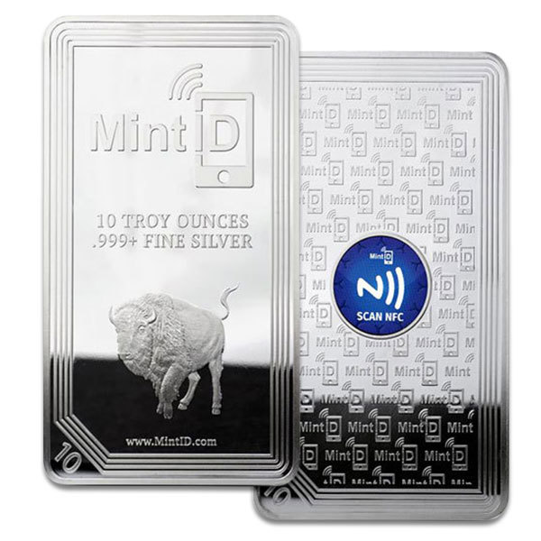 Compare silver prices of MintID 10 oz Silver Bar