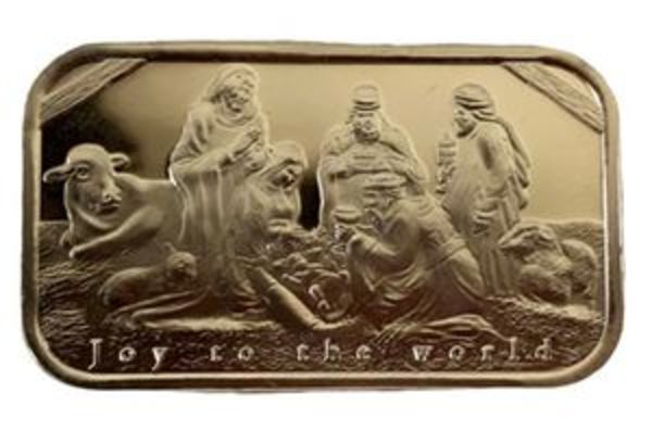 Compare silver prices of Nativity Scene 1 oz Silver Bar