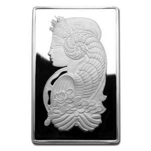 10 oz PAMP Suisse Lady Fortuna Silver Bar