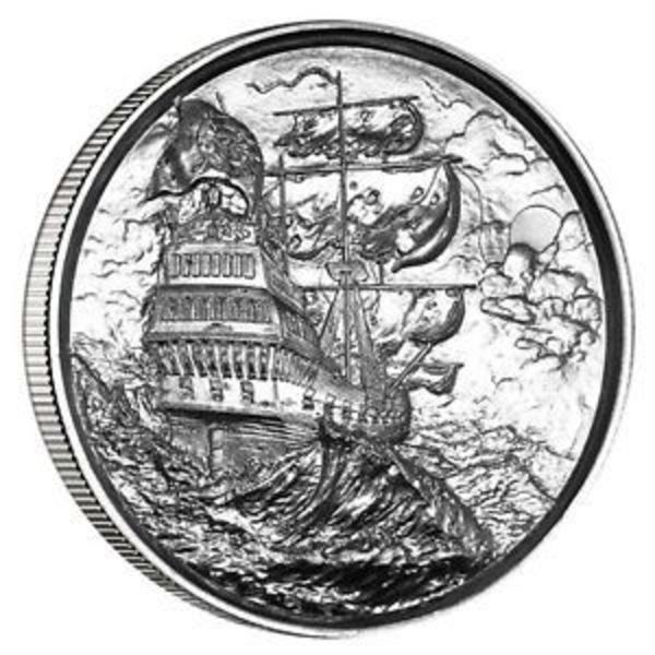 Compare cheapest prices of Elemetal Privateer Ultra High Relief Silver Round (Privateer Series #1)