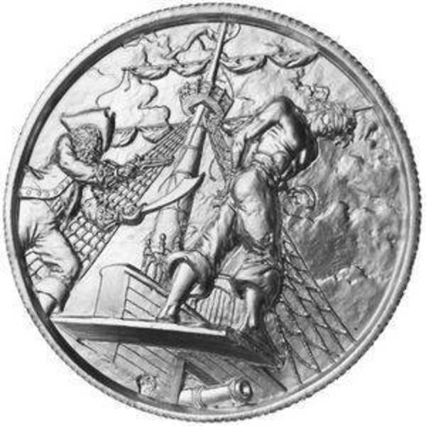 Compare silver prices of Elemetal The Plank 2 oz Ultra High Relief Silver Round (Privateer Series #5)