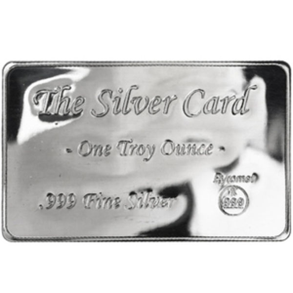 Buy Pyromet 1 Oz Silver Card Bars At The Best Prices