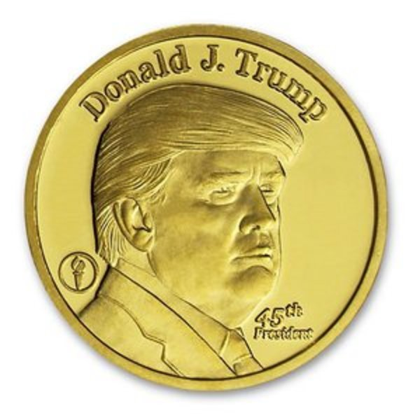 Compare gold prices of Donald Trump 1/4 oz Gold Coin