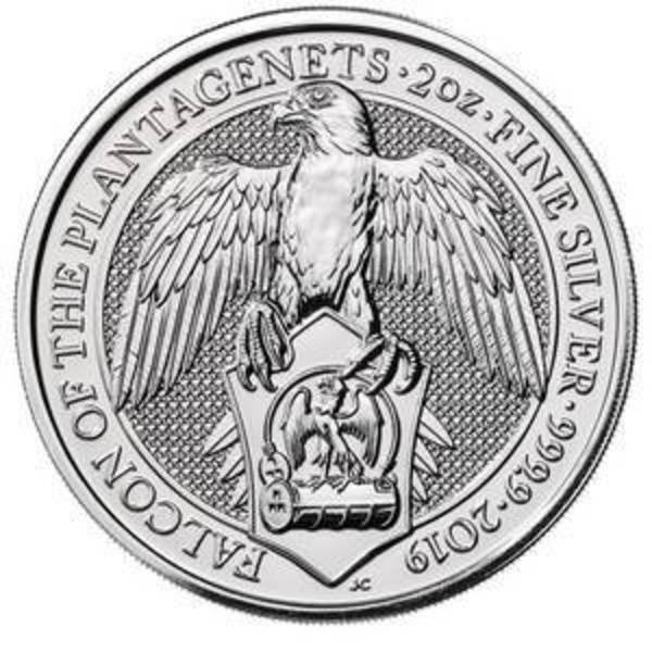 Compare silver prices of 2018 Queen's Beasts The Falcon Of Plantagenets