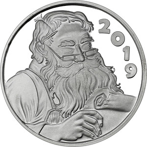 Compare silver prices of 2019 1oz Santa's List Christmas Silver Round