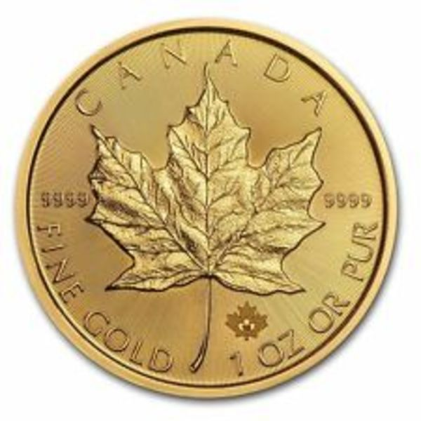 Compare gold prices of 1 Oz Gold Maple Leaf - Scruffy Random Year