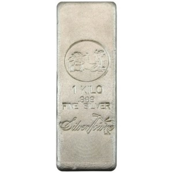 Compare silver prices of SilverTowne 1 Kilo Poured Silver Bar .999 fine
