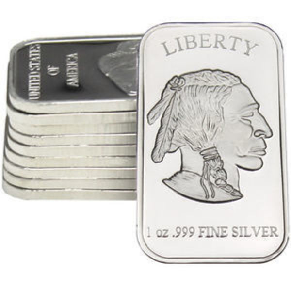 SilverTowne Bars Lot of 10