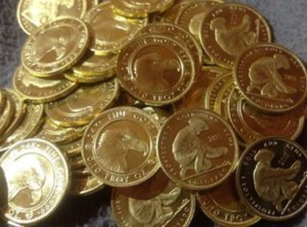 Compare gold prices of 1/10 oz Gold Round