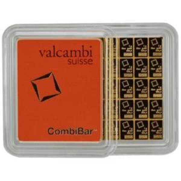 Compare gold prices of Valcambi CombiBar - 50 Gram Gold Bars